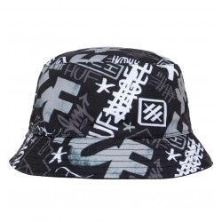 HUFX ERIC HAZE  BOB BLACK BUCKET HAT