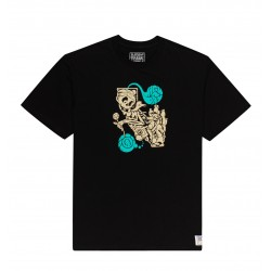 ELEMENT X TIMBER TEE ALTERATED STATE FLINT BLACK