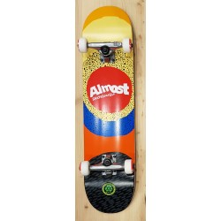 """ALMOST 7.5"""" Skateboard Complet RADIATE YELLOW"""