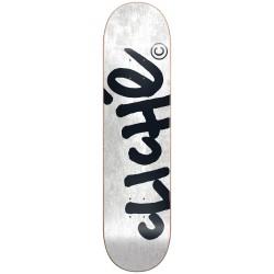 "CLICHE 8.0"" PLATEAU HANDWRITTEN RHM WHITE  SKATEBOARD"