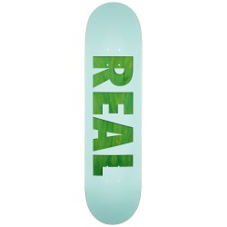 """REAL DECK  8.125"""" BOLD REDUX TEAL"""