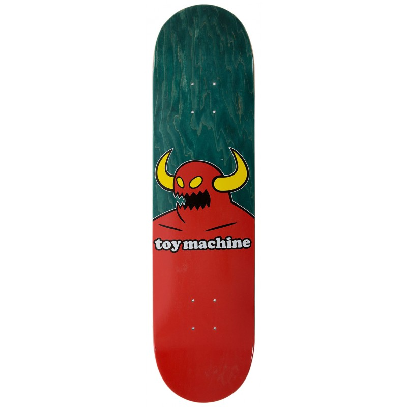 """TOY MACHINE 7.75"""" SKATEBOARD MONSTER DECK"""