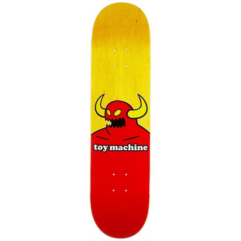 """TOY MACHINE 8.0"""" SKATEBOARD MONSTER DECK"""