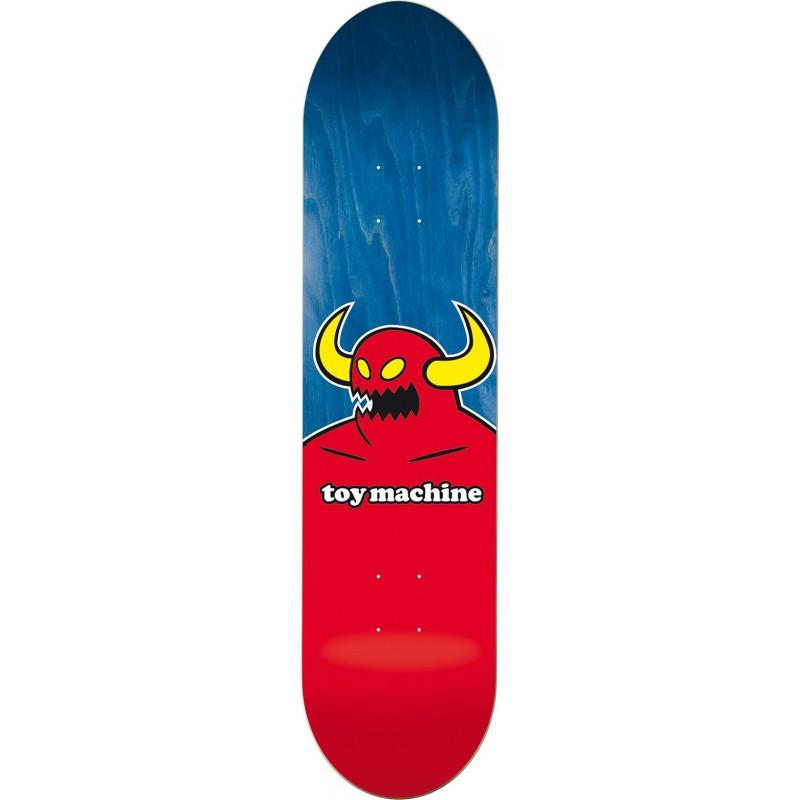 """TOY MACHINE 8.13"""" SKATEBOARD MONSTER DECK"""