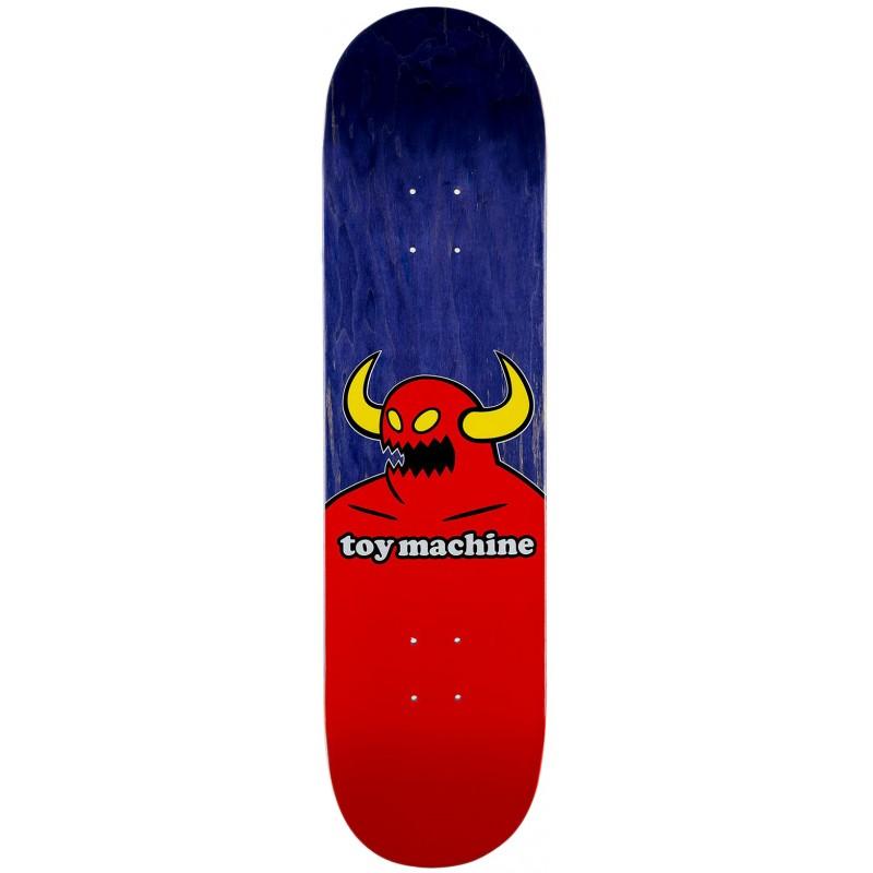 """TOY MACHINE 8.25"""" SKATEBOARD MONSTER DECK"""