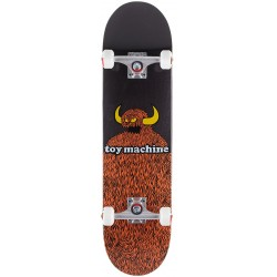"""TOY MACHINE 8.25"""" COMPLETE FURRY MONSTER SKATEBOARD"""
